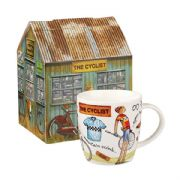 Churchill At Your Leisure The Cyclist Mug in Hatbox
